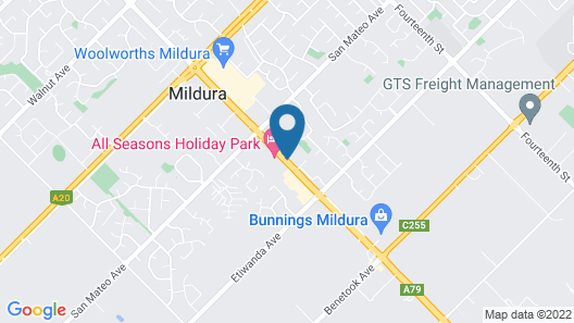 Murrayland Holiday Apartments Map