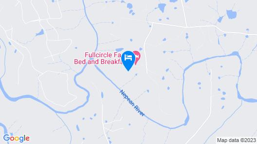 Fullcircle Farm Bed & Breakfast Map