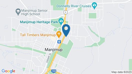 Manjimup Motor Inn Map