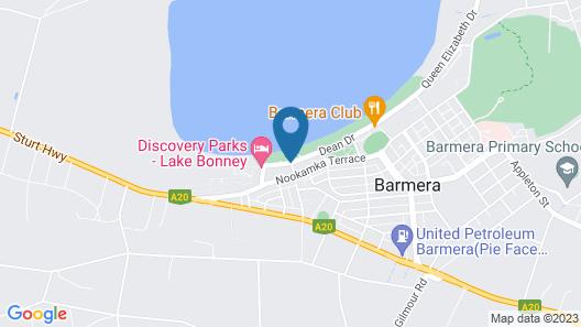 Barmera Lake Resort Motel Map