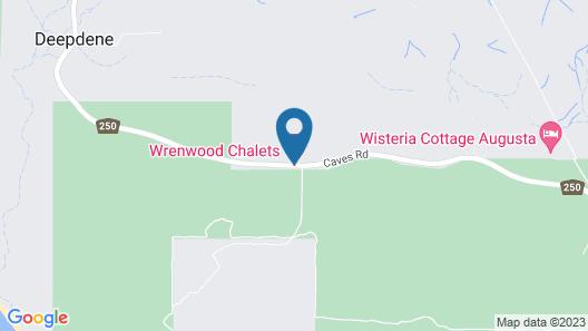 Wrenwood Chalets Map