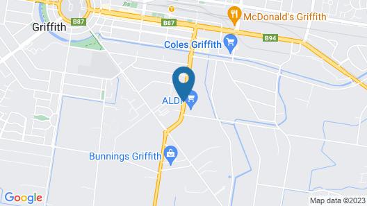 Citrus Motel Map