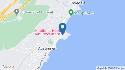 Headlands Austinmer Beach Map