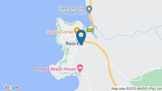 Klip Cottage Guest House Rooiels Map