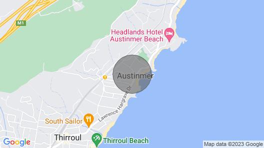 2 Austinmer - Studio, Opposite Beach Map