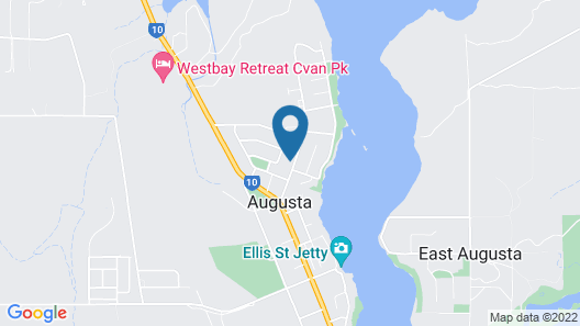 River Views Augusta Map