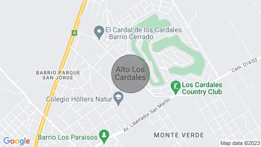 Casa de Campo con Piscina en Barrio Privado Para 15 Pasajeros Map