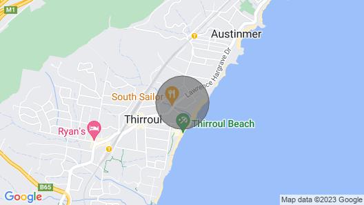 Thirroul Beach Apartment Map
