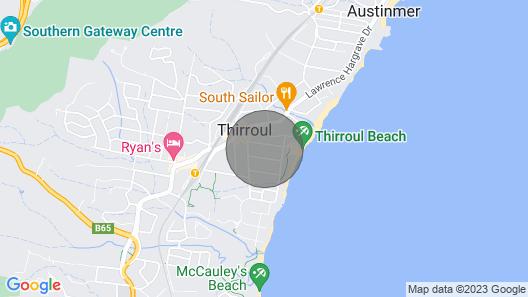 Thirroul Beach NSW South Coast - 2 Minutes to Beach! Map