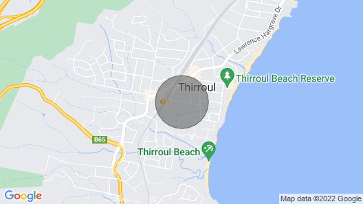Glen Ayr Coastal Retreat Thirroul Garden Flat Map