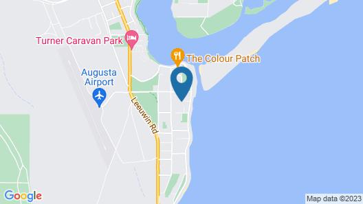 Jay's Beach House Map