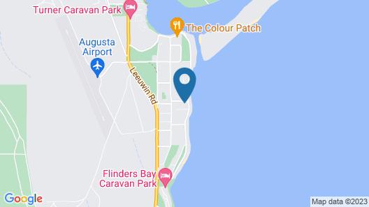 Jen's Beach House Map