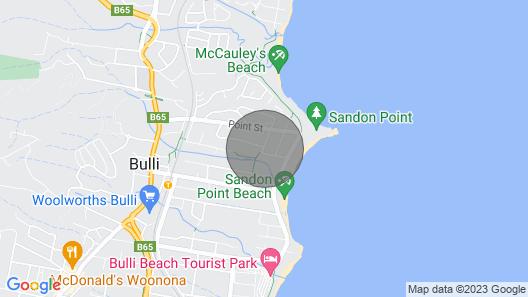 Southview - Seaview Spa Suite Map