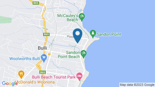 Southview Boutique Guest House Map