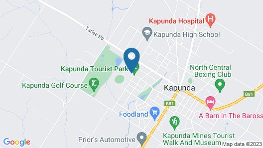 Kapunda Tourist Park Map
