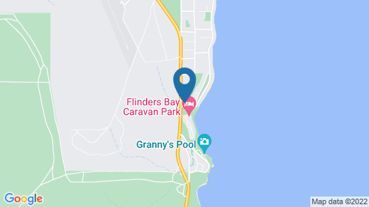 Flinders View Beach House Map