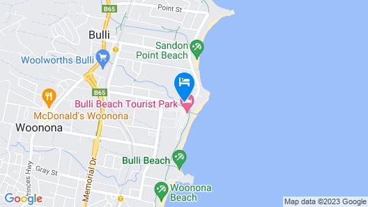 Bulli Beach Tourist Park Map