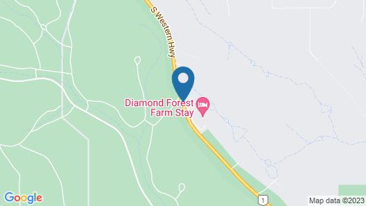 Diamond Forest Farm Stay Map