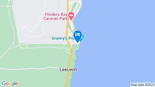 Augusta Beachfront Accommodation Map