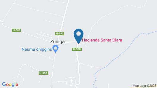Hacienda Santa Clara Map