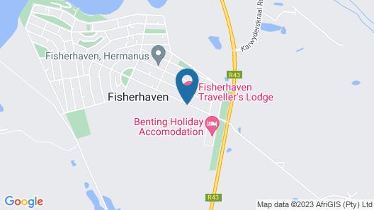 Fisherhaven Traveller's Lodge Map