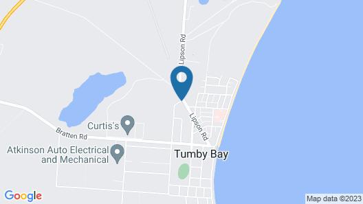 Tumby Villas Map