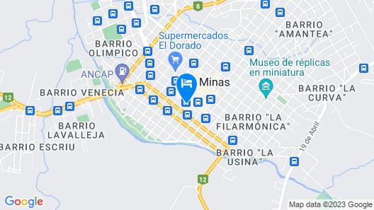 Nuevo Hotel Plaza Map