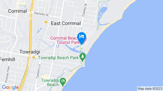 Corrimal Beach Tourist Park Map