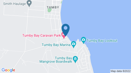 Tumby Bay Caravan Park Map