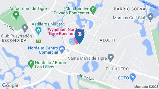 Wyndham Nordelta Tigre Buenos Aires Map