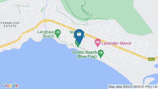 Hermanus Beachfront Lodge Map
