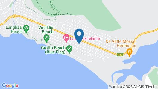 Whale Coast Ocean Villa Map