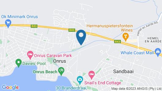 Onrus River Cottage Map