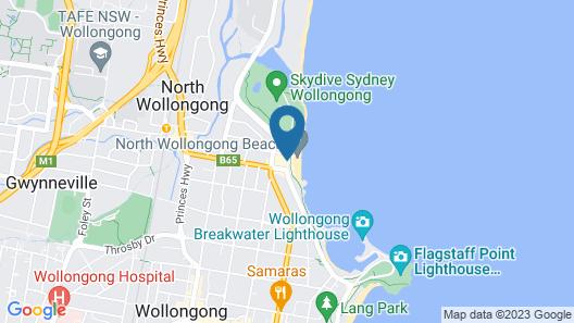 Novotel Wollongong Northbeach Map
