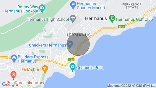 Our Hermanus House, Luxury Self Catering Villa for 8 Adults and 4 Children Map