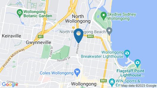 Flinders Motel Map