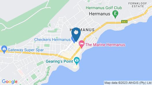 Whale Coast Hotel Map