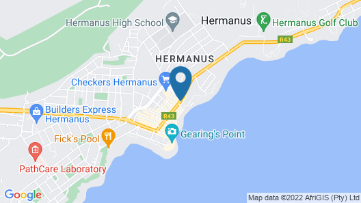The Marine Hermanus Map