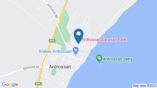Ardrossan Caravan Park Map