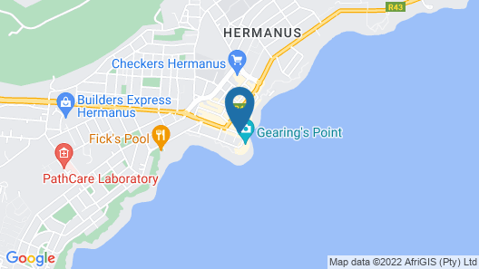 Harbour House Hotel Map