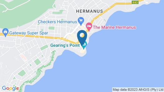 Hermanus Apartments Map