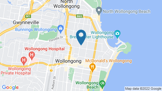Argo Serviced Apartments Map