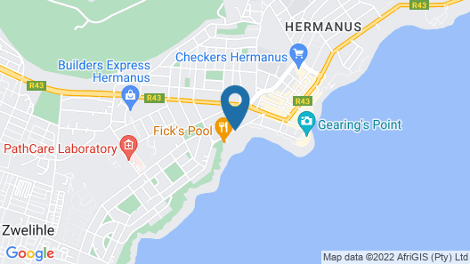 Misty Waves Boutique Hotel Map