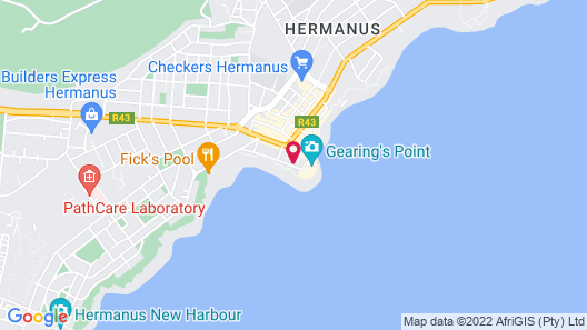 Hermanus Esplanade Map