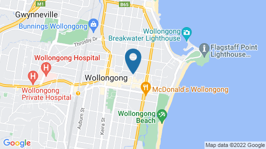 Quest Wollongong Map
