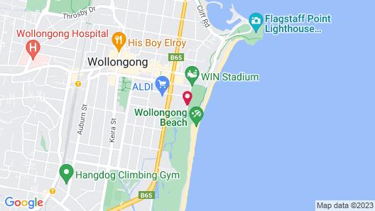 Sage Hotel Wollongong Map