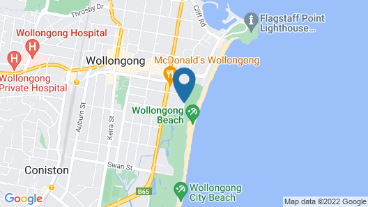 Sage Hotel Wollongong Map