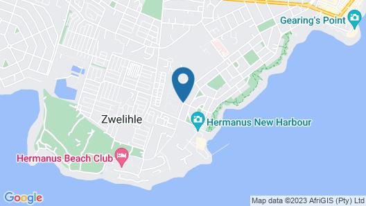 Hermanus Longboat Sea Cottage Map