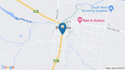 Boorowa Hotel Map