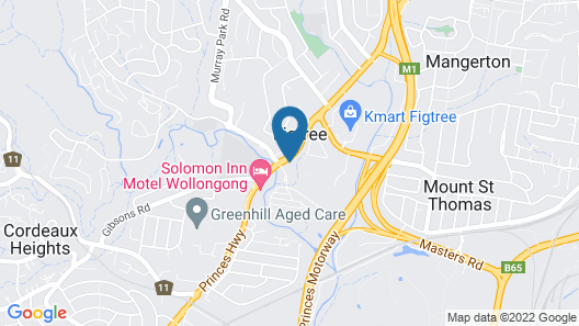 Figtree Hotel Map